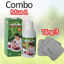 combo Amibebe 250ml